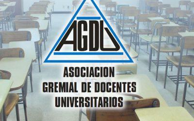 AGDU propone paros progresivos si no hay avances en la paritaria