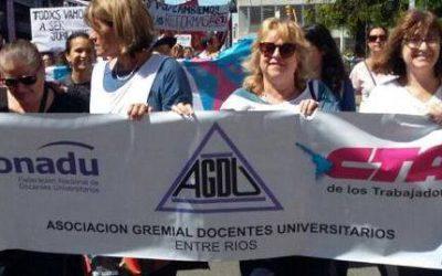 AGDU va al paro el 10 y 11 de abril