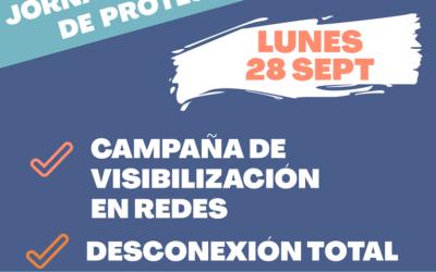 Campaña de visibilización y desconexión total