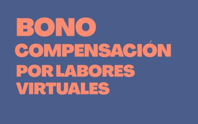 Compensación por labores virtuales