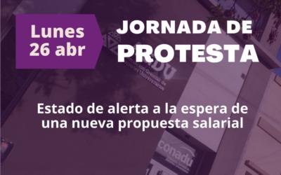 Paritaria salarial: Convocamos a una jornada de protesta