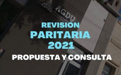 Revisión salarial: Propuesta y consulta